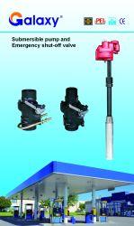 Qby-75 ha sommerso la turbina Pompa-per uso del distributore di benzina che funziona con 4nozzles-210L/Min 220V/380V