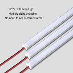 Der hohen Helligkeits-steife LED Leuchtstoff LED heller Stab-industrielle Schaukasten-Bildschirmanzeige-Lampe Streifen-des Licht-SMD2835 220V