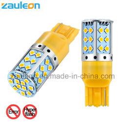 Libre de errores Canbus T20 7440 Wy21W W21W LED ámbar no Hyper Lámpara de flash para el coche de la luz de giro