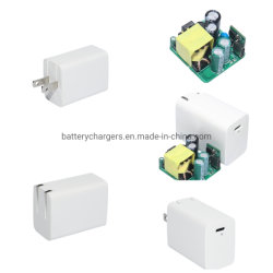 Ue UK US Jpn prise 5V3A 9V2A 12V1.5A PD18W de type Mac iPhone Pad-C Chargeur rapide USB