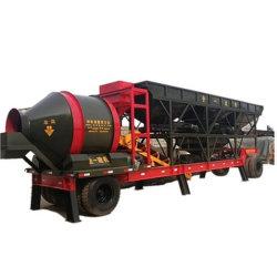 Planta mezcladora de concreto móvil con silo de cemento móviles