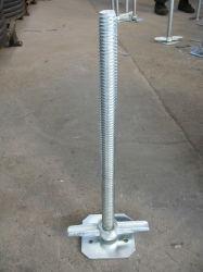 熱い販売の調節可能な足場旋回装置のジャックの支承板