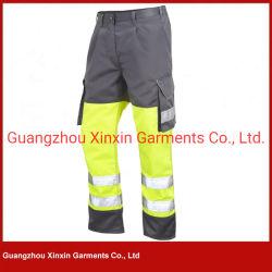 Высокая видимость безопасности отражает работу Pant желтый защитный единообразных (W420)