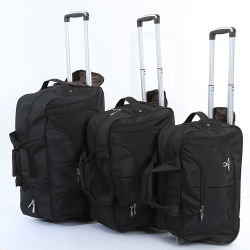 Мода портативный полиэфирная ткань Oxford Duffel Trolley сумка для переноски