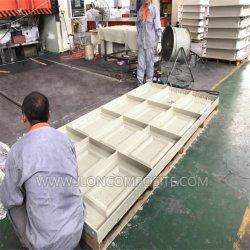Гладкая поверхность глянцевая SMC лист комплекса для литьевого формования FRP двери кожи