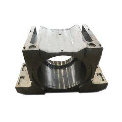 Bloco do Eixo de fundição em areia OEM/bloco do mancal do rolamento/Pedestal do assento do suporte do rolamento /com usinagem CNC