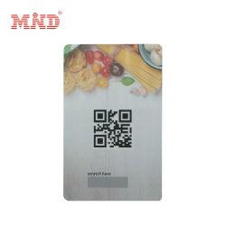 Custom Cr80 Barcode عضو بطاقة بلاستيكية CMYK طباعة