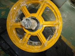 Katrolschijf van de Deflector van de Lift van de Katrol van de katrolschijf de Plastic met het Dragen