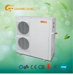 Intelligente regelluchtbronwarmtepomp voor huishoudelijk gebruik 3 In 1 systeem (verwarmen + koelen + heet water) GT-Skr035hh-10