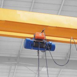 中国の電気リモート・コントロール単一のガードの倍のガードオーバーヘッドEotクレーン3 5 10販売のために引くことを用いる12トンの価格