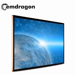 49 インチ超薄型ウォールマウントデジタルサイネージ Android デジタルサイネージタッチ LCD デジタルサイネージバス用 17 インチ広告 TV LCD デジタル広告 TV