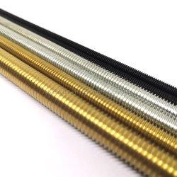 스레드된 바 6mm 8mm 12mm A36 A325 A193 M8 M9 M15 Gi B7 DIN975 급료 8 5.8 스테인리스 애크미 사다리꼴 나무로 되는 직류 전기를 통한 가득 차있는 알루미늄에 의하여 스레드되는 로드