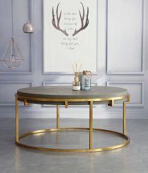 De Basis van het Metaal van de Koffietafel van het Roestvrij staal van het Frame van de Lijst van het metaal voor Hotel Furnitures