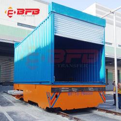 الموردون في الصين 20 طن من الصلب الهيكل الصلب تشغيل النقل الصناعي المسطح على التروللي السكك الحديدية