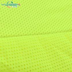 Gros en Chine Fashion Fluorescent tissu à mailles réfléchissante