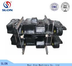 Hohes Fahrgestell Mangan-Stahl-KOMATSU-PC4000-6 zerteilt Exkavator-Spur-Schuh