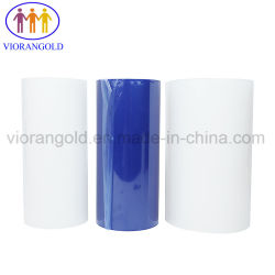 40um/50um/60um/70um/80um/100um PE Azul/Transparente Película protectora para la protección de la tapa de plástico