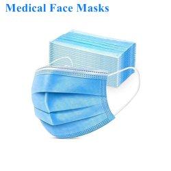 工場3つの層Nonwoven Earloop Facemaskの労働の保護塵の顔のマスクの使い捨て可能なマスク