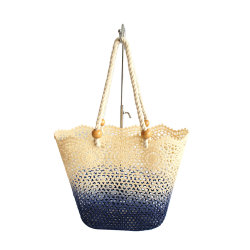 Form-Häkelarbeit-abgestufter Farben-Spitzetote-Beutel/Fonds/Form-Handtasche/Handtaschen der Damen/Form-Beutel