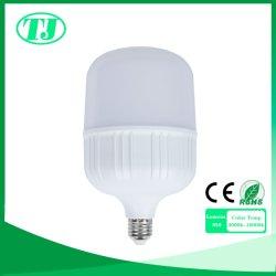 Plus d'aluminium LED en plastique PBT 5W-50W E14 E27 B22 ampoule LED