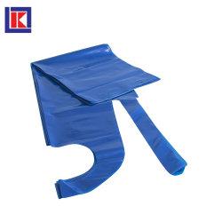 Одноразовые HDPE LDPE пищевой категории PE халат с индивидуальной упаковки