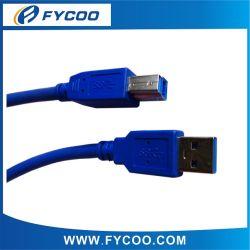 Super Snelheid USB 3.0 Am aan Kabel van de Kleur van de Kabel van BM de Blauwe USB3.0 Am aan BM, Versie 3.0
