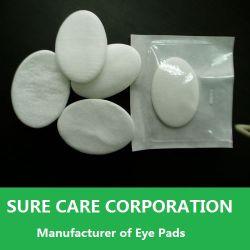 Ce&ISO tampon de l'oeil non tissées approuvés pour usage médical