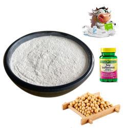 Extrait de plante de fines herbes naturelles 10 % d'eau soluble isoflavone de soja CAS 574-12-9