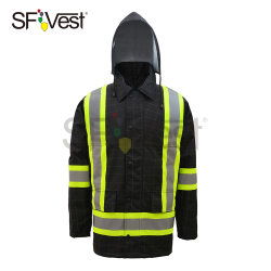 300d Oxford Water Resistant Enhanced Visibility Heat Reflective Parka 재킷