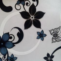 공장 현대식 사용자 정의 인쇄 장식용 유리 필름 무광택 정적 들러붙임 사무실 욕실용 스트립 윈도우 필름 롤