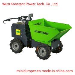 350 кг загрузка электрический Mini Dumper мощность колеса Барроу сад погрузчика