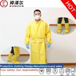 Vestuário de proteção à prova de água descartável OEM/ODM