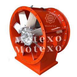 Ventilador de fluxo axial para as minas de metais e substâncias químicas
