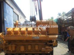 나이지리아에 있는 디젤 엔진 발전기 500-1200kw