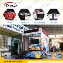 Parque de diversões de Equipamento Móvel de caminhões de cinema 5D 7D Cinema para venda