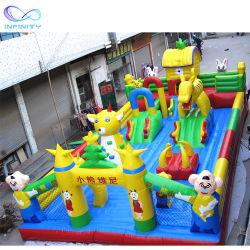 Funny Outdoor Funcity insufláveis deslize jogo seca Jumping Castelos Funcity Bouncer Deslize o parque infantil inflável para venda
