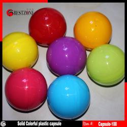 Cápsulas de plásticos vazios ou bolas de plástico