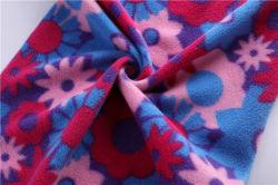 100D Lait Four-Sided polaire de la soie tissu élastique doublure de ponçage, automne/hiver base élastique doublure, doublure imprimée