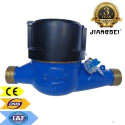 Flussometro dell'acqua Classe C economico in rame, CAN Multi Jet Contatore di acqua residenziale per la Cina secca ISO 4064