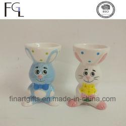 Hot Sell السيراميك عيد الفصح Cute Bunny Egg Cup
