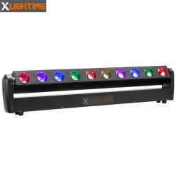 Xつく広州10*40W LED移動ヘッド棒DJ装置