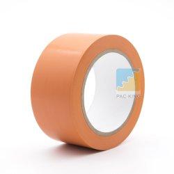 Aviso de piso de PVC de cor laranja/Fita de Marcação