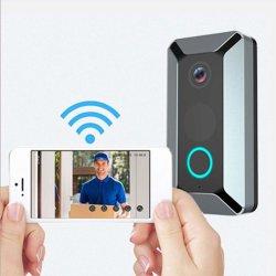 Controle van de Telefoon van de Stem van de Deurbel van WiFi van de veiligheid de Verre Video