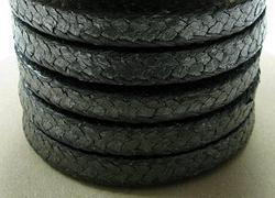 Imballaggio della grafite con la fibra del carbonio nell'angolo per temperatura elevata o alta pressione