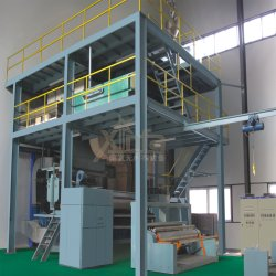 Nonwoven Bagsのための3.2m S Spunbond Nonwoven Fabric Making Machine