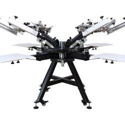 마이크로 등록 화면 인쇄 기계 전문 실크 인쇄 프레스
