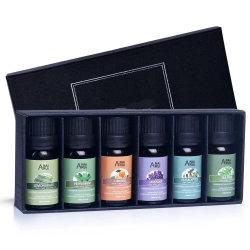 Reeks van de Essentiële Olie van het Gras van de Citroen van de Boom van de Thee van de Lavendel van Aromatherapy van de Massage van 100% de Zuivere Organische Therapeutische Oranje Natuurlijke