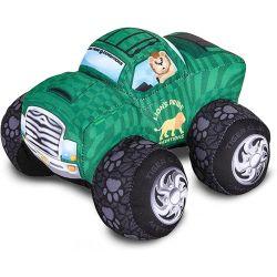 맞춤형 창의력 부드럽고 사랑스러운 Monster Truck Big 인형 멋진 동물 테마 디자인 어린이 생일 선물 플러시 완구