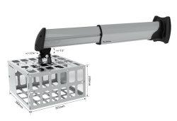 Проектор с малым проекционным расстоянием Настенный кронштейн с отсека для жестких дисков (PM06M)