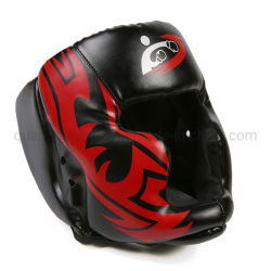 OEM PU Adult Adjustable Boxing Free Combat Helmet